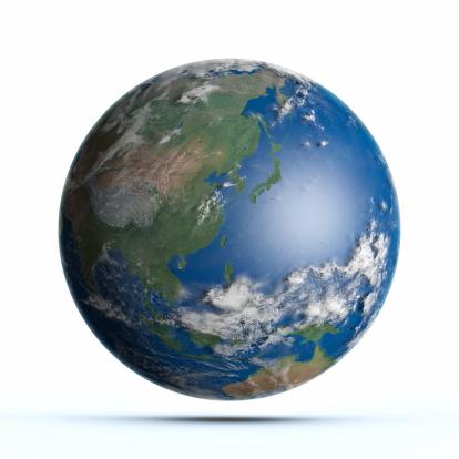 Planet Earth Pacific Ocean, Japan, Australia, China 154959206