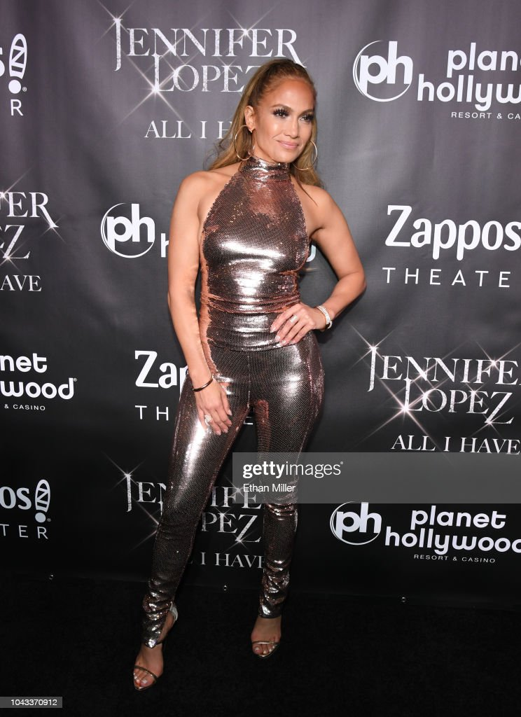 """JENNIFER LOPEZ: All I HAVE"" Finale At Zappos Theater At Planet Hollywood Resort & Casino : News Photo"