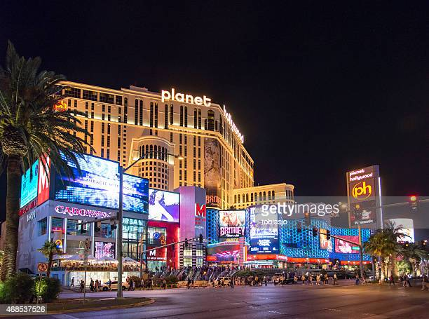 Planet Hollywood Las Vegas Strip at night