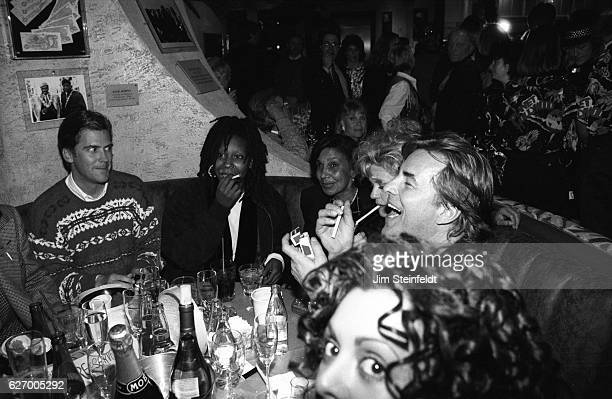 Planet Hollywood opening with Whoopi Goldberg Melanie Griffith and Don Johnson at the Mall of America in Blooington Minnesota on December 12 1993
