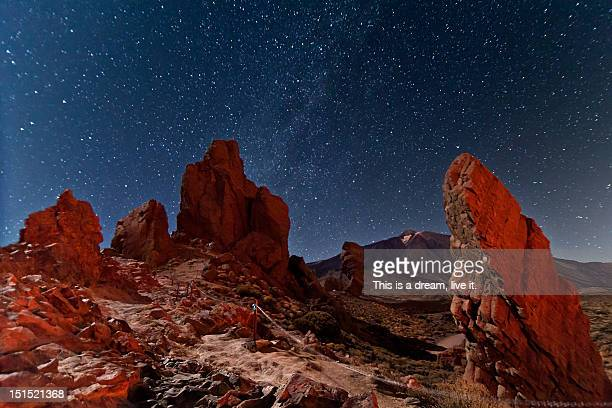 planet in teide national park - el teide national park stock pictures, royalty-free photos & images