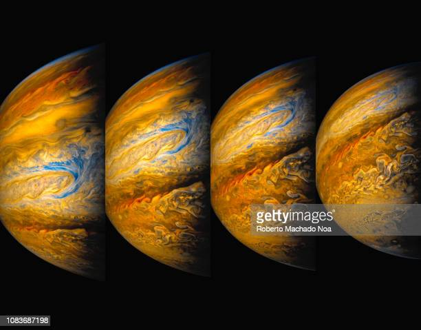 planet jupiter - jupiter planet stock pictures, royalty-free photos & images