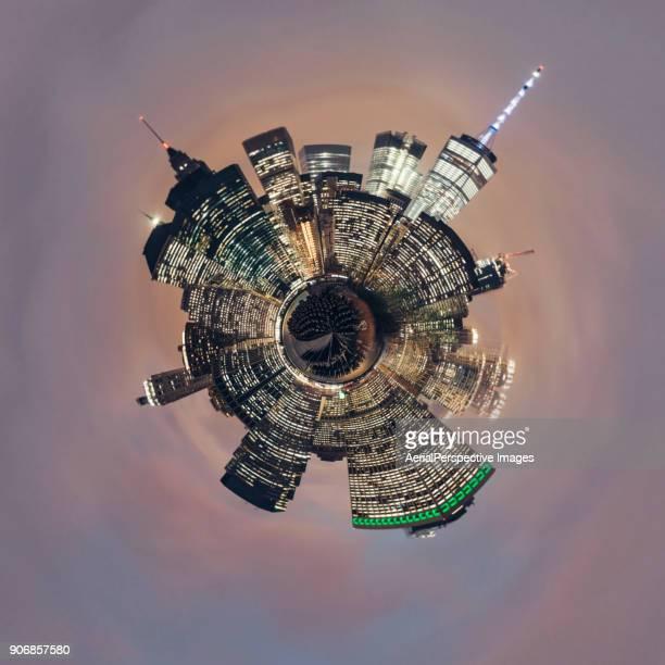 Planet View of Manhattan