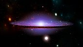 planets and galaxy cosmos physical cosmology science fiction wallpaper