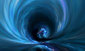 Planets and galaxy, cosmos, physical cosmology, science fiction wallpaper.