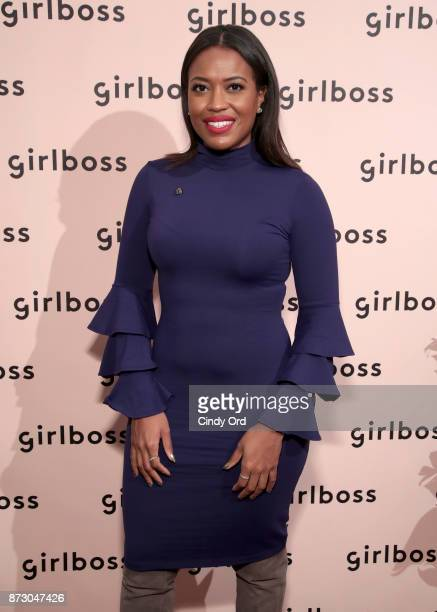 Planned Parenthood Director of Constituency Communications Alencia Johnson attends Girlboss Rally Hosted By Sophia Amoruso's Girlboss on November 11...