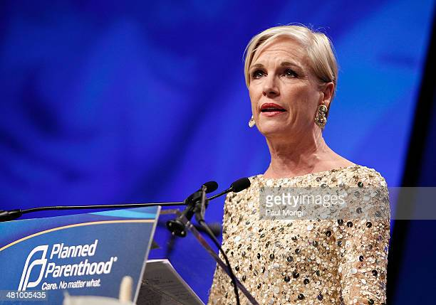 Planned Parenthood Federation of America President Cecile Richards makes a few remarks at the Planned Parenthood Federation Of America's 2014 Gala...