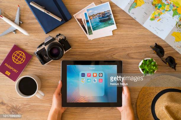 Planning a travel with iPad