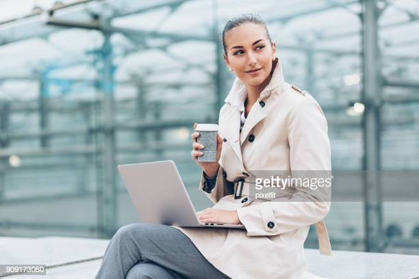 planning for success - raincoat stock photos and pictures