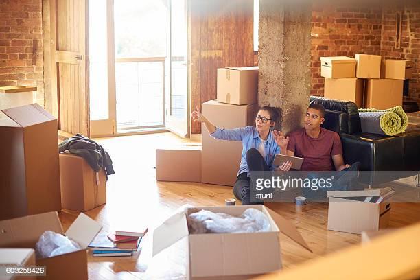 planning our loft living
