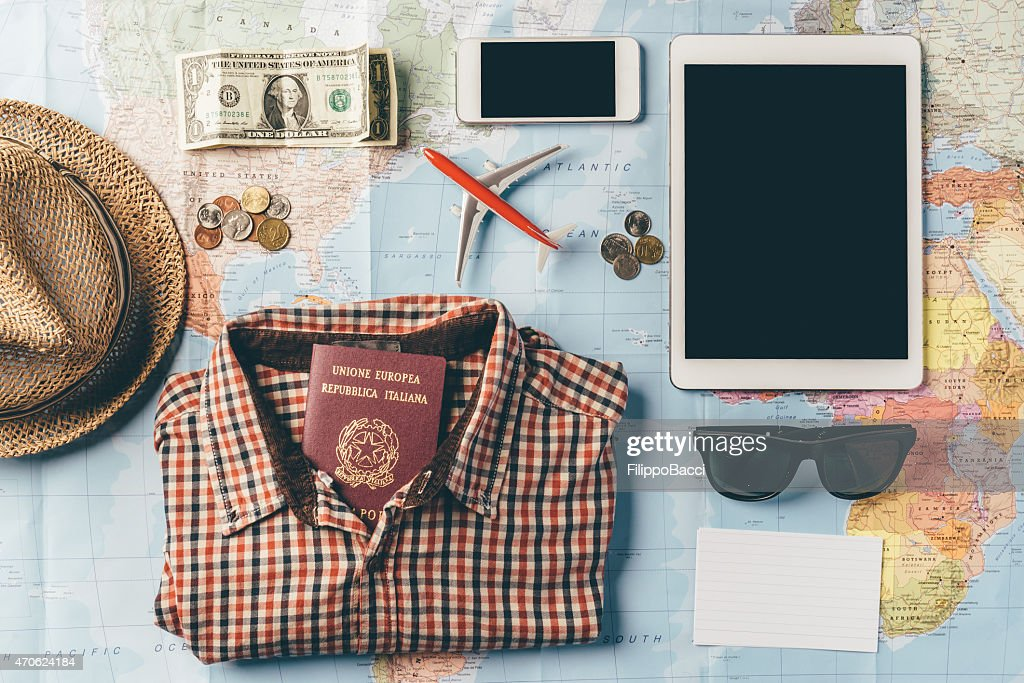 Planning The Next Trip : Stock Photo