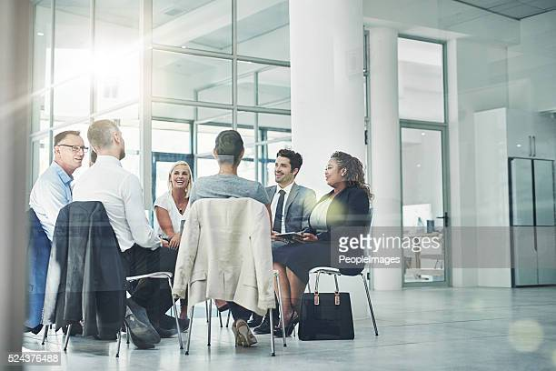 Planning their company's course