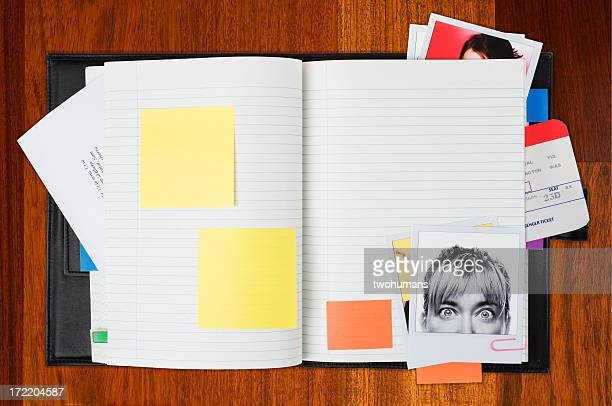 planning your day - diary stock pictures, royalty-free photos & images