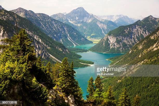 Plansee, Ammergau Alps, Reutte, Tyrol, Austria