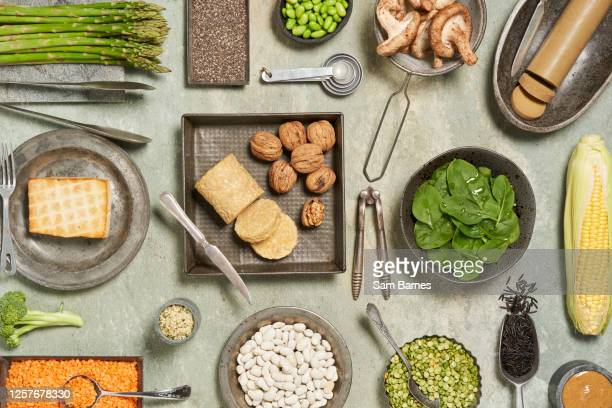 plant based protein - meat substitute stock pictures, royalty-free photos & images