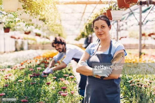 Plant nursery owner