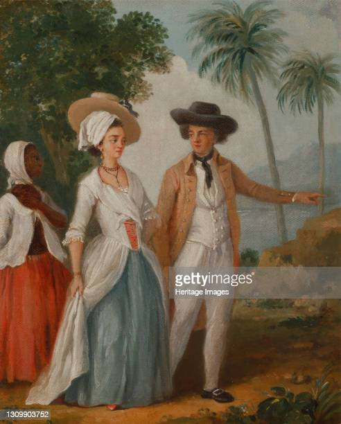 Planter and his Wife, with a Servant;Planter and his wife, attended by a servant, ca. 1780. Artist Agostino Brunias. .