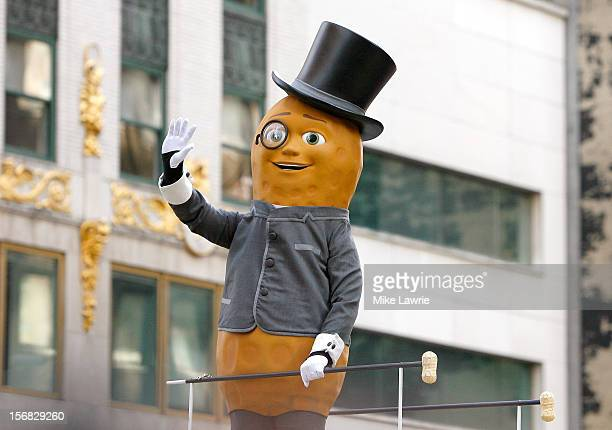 Planter's Mr Peanut attends the 86th Annual Macy's Thanksgiving Day Parade on November 22 2012 in New York City