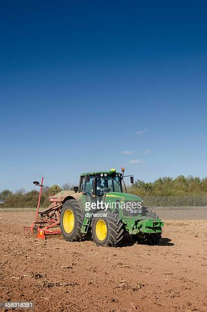 planting crops - john deere stock pictures, royalty-free photos & images