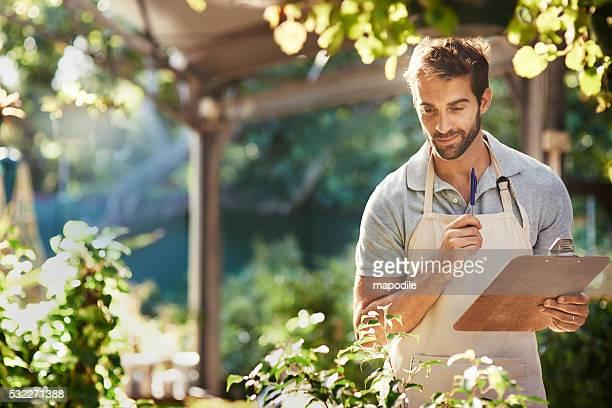 Pflanzen sind seine Nische