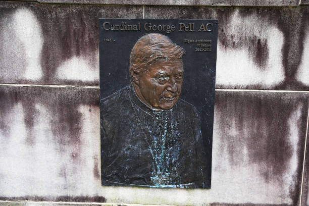 AUS: Comedians Update Plaque At Sydney Church After Court Upholds George Pell's Child Sexual Assault Conviction