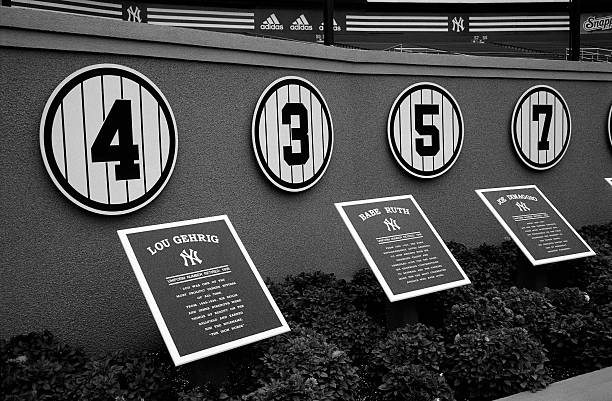 Plaques and Retired Numbers of Baseball Legends