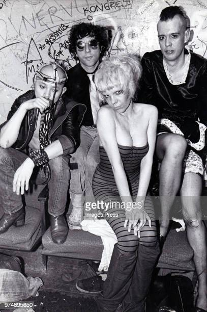 Plasmatics circa 1979 in New York