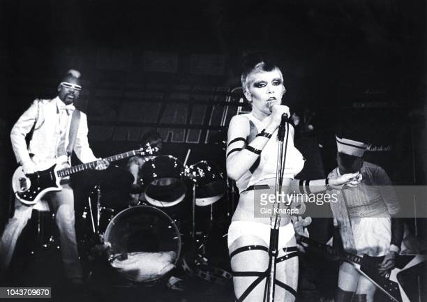 Plasmatics Wendy O Williams Wes Beech Jean Beauvoir Zaal Lux Herenthout Belgium 3rd February 1981