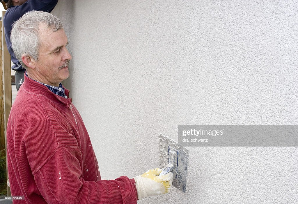 Plasterer : Stock Photo