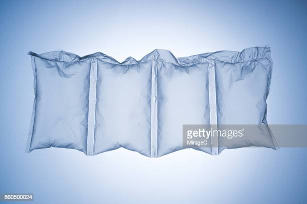 plastic air cushion bags - fragile sign stock pictures, royalty-free photos & images