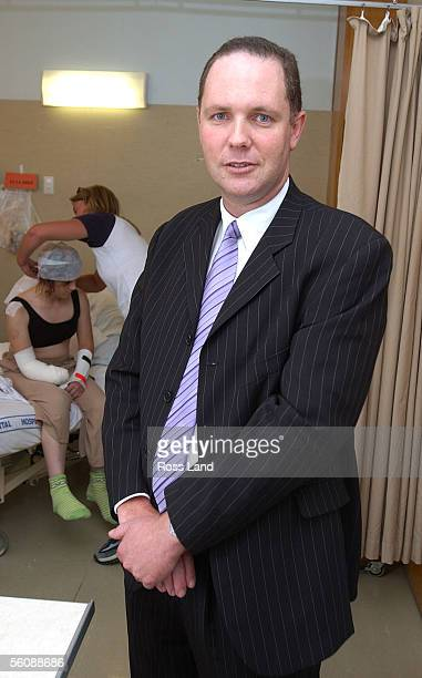 Plastic and reconstructive surgeon Stephen Mills who worked on the head wound of Samurai sword attack victim Renee Hills at Middlemore Hospital