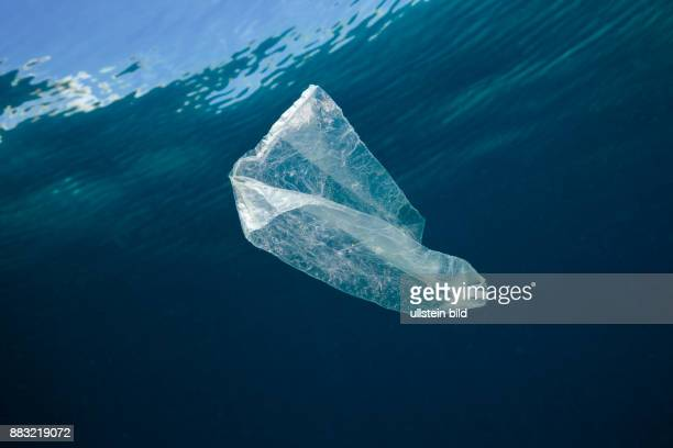 Plastic Bag adrift in Ocean Indo Pacific
