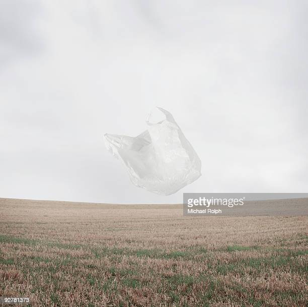 Plastic Bag Blowing in the Wind