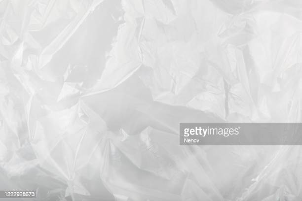 plastic bag texture - plastic stock pictures, royalty-free photos & images