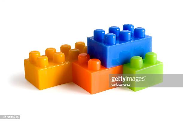 Plastic Blocks w/clipping path