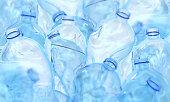 Plastic bottle 3d rendering