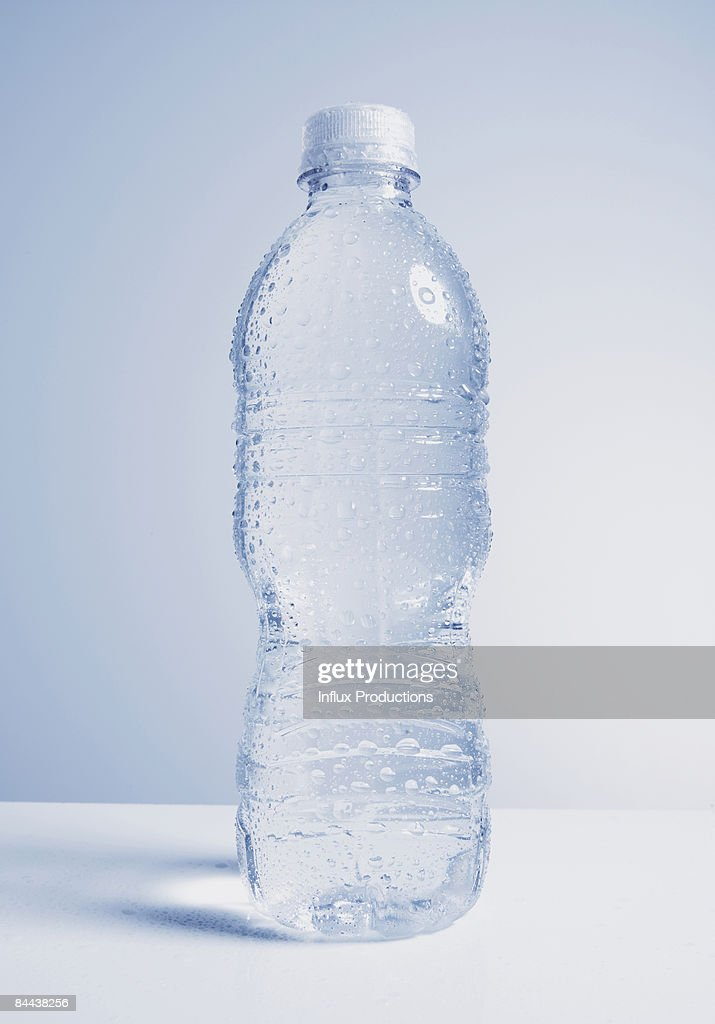 Plastic bottle of water : Stock Photo