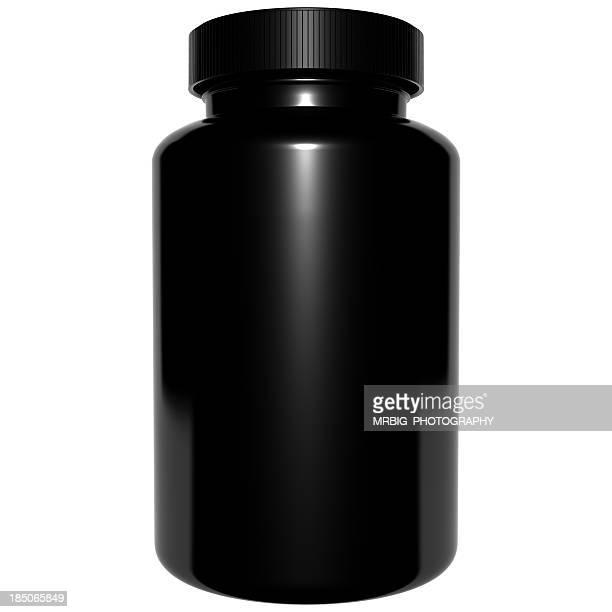 3 D frasco de plástico