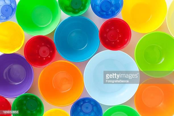 Plastic bowls