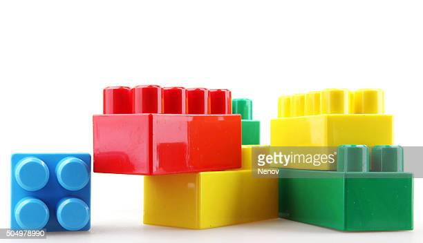 Plastic building blocks