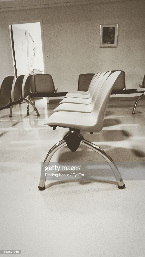 Plastic Chairs In Waiting Room