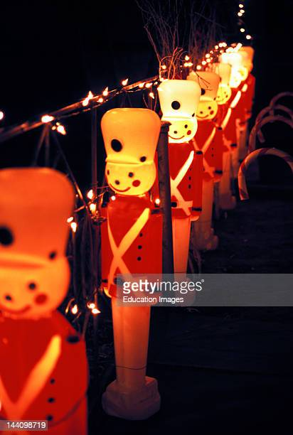 plastic christmas lawn decorations toy soldiers pictures getty images - Plastic Christmas Yard Decorations