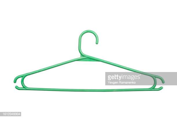 plastic coat hanger - coathanger stock pictures, royalty-free photos & images