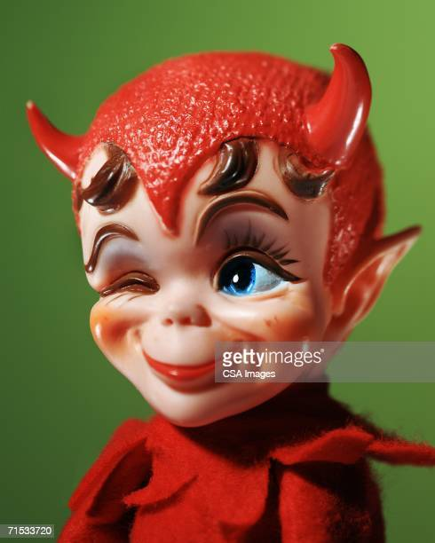 Plastic Devil Toy