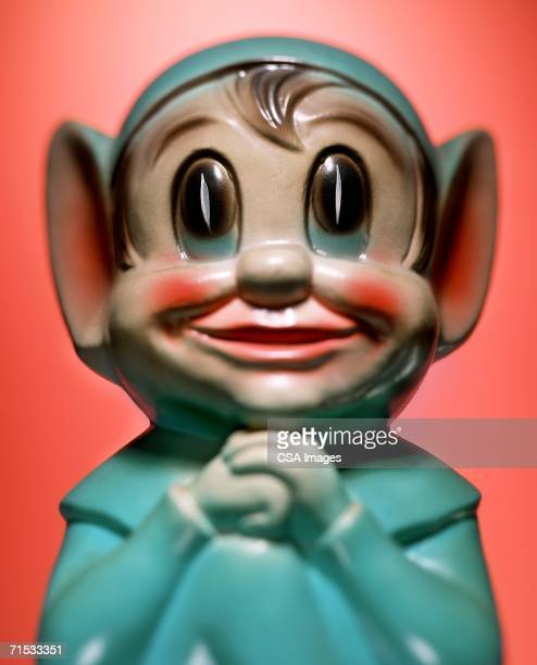 plastic elf figurine - troll stock photos and pictures