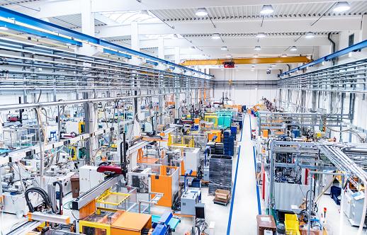Plastic factory & machinery - gettyimageskorea