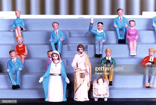 plastic figures - bizarre fashion stock pictures, royalty-free photos & images