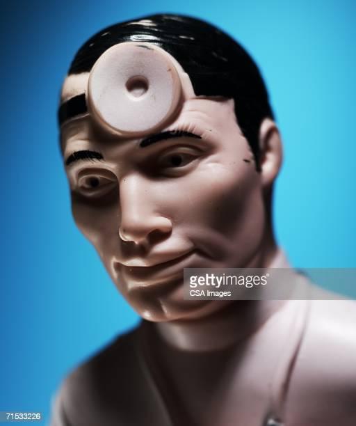 Plastic Figurine of a Doctor