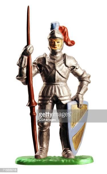 Plastic Figurine of a Knight