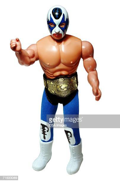 Plastic Figurine of a Professional Wrestler